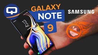 Обзор Samsung Galaxy Note 9. Технологичный гигант. / QUKE.RU /