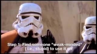How to do the Jedi Mind Trick (by Obi-Wan Kenobi)