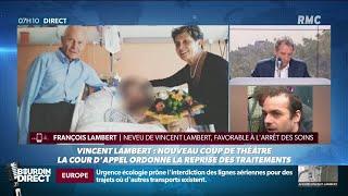 Affaire Vincent Lambert: dialogue impossible entre l'avocat des parents et le neveu du tétraplégique