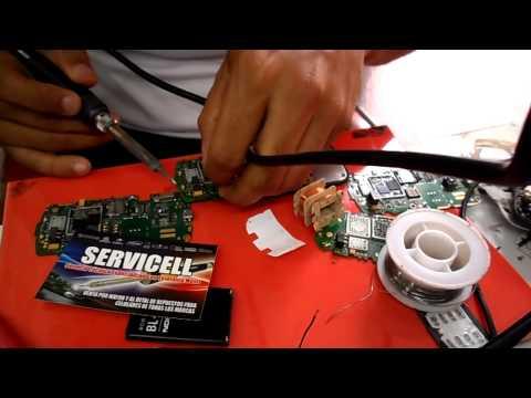 reparacion nokia c2-02 c0-03 c2-06 c2-08 luz en display , repair c2-02 light display