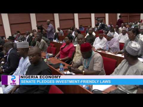 NIGERIA ECONOMY: Senate pledges investment -friendly laws