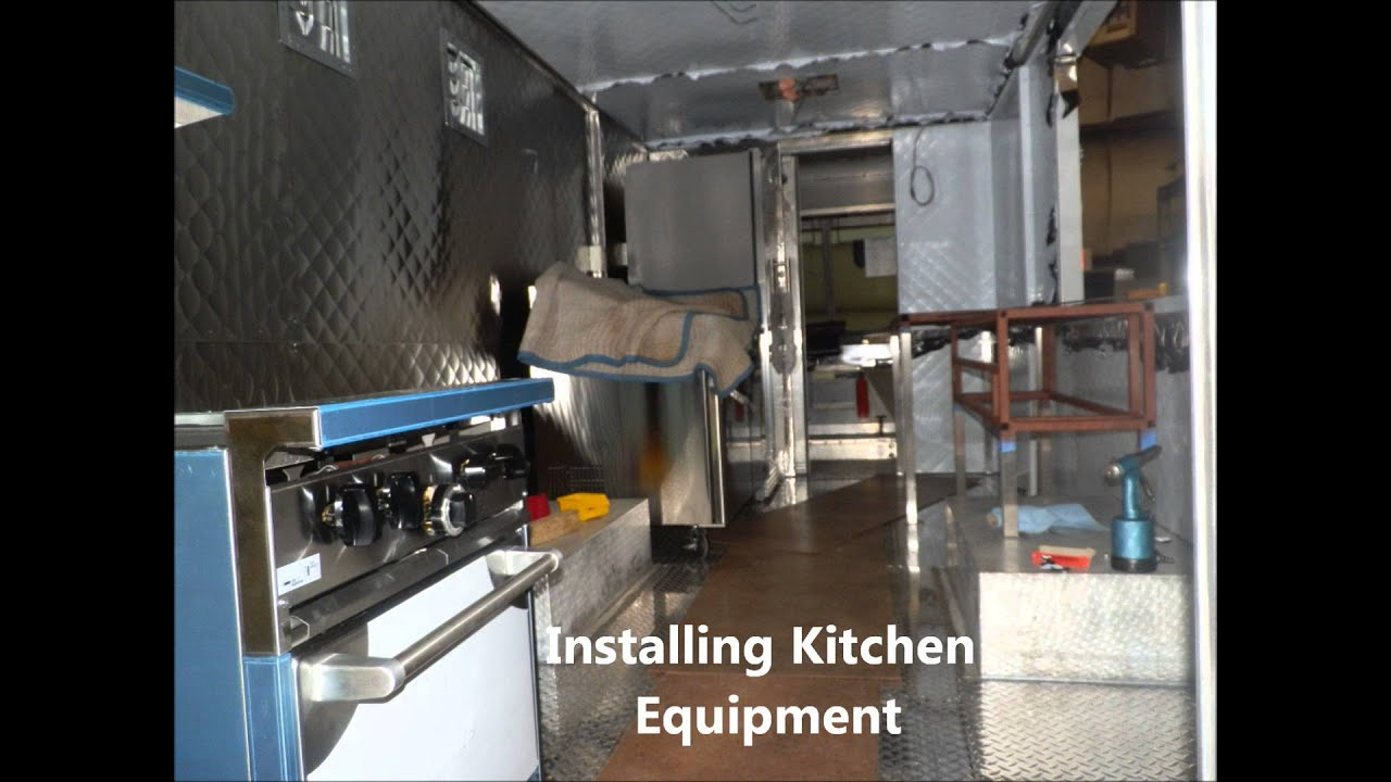 Building Food Truck Mobile Kitchen Youtube