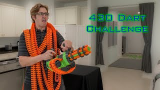 SHOOTING 430 NERF DARTS AS FAST AS POSSIBLE #16 | Adventure Force V-Twin YouTube Videos