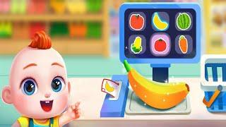 Super JoJo is Shopping at the Supermarket - Super JoJo Games - Babybus Gameplay screenshot 2