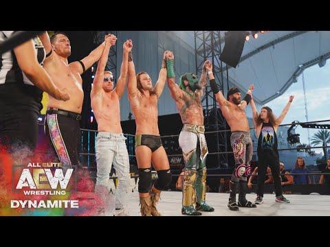 Who Got The Last Word in the 10 Man Brawl? | AEW Dynamite, 7/29/20