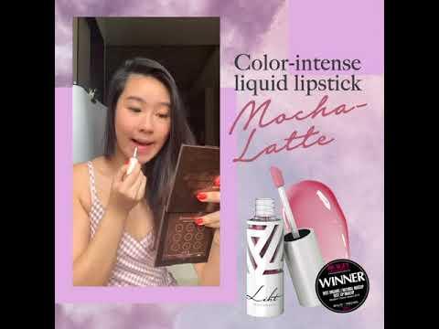 Color-intense Liquid Lipstick (Mocha-Latte)