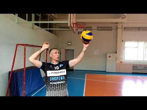Как научиться подавать в волейболе верхнюю подачу