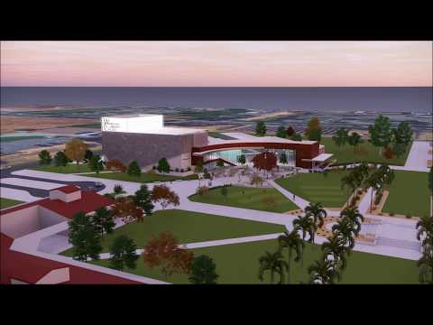Woodland Community College, Performing Arts, Preliminary Planning Fly Over Video -(Low Resolution)