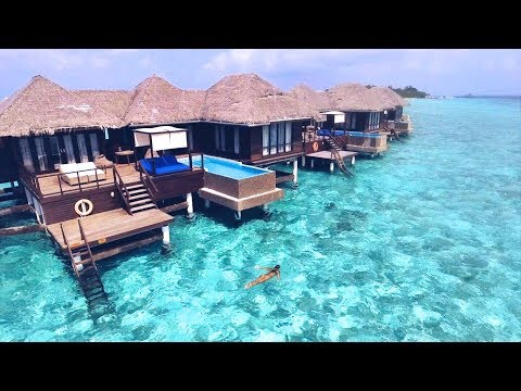 Coco Bodu Hithi Maldives Drone View Youtube