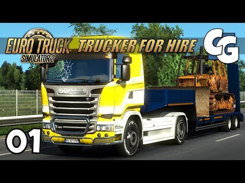 [ETS2] Trucker for Hire - Ep. 1 - Brand New Day - ETS2 ProMods 2.16 Let's Play
