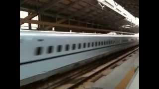 高速で通過する九州新幹線さくら@新玉名駅