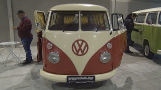 Volkswagen Transporter T1 (1965) Exterior and Interior