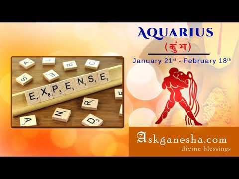 Aquarius 2018 career and profession horoscope - Askganesha