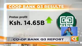 co-op Bank 3rd quater report