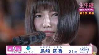 第7回 AKB総選挙2015 島崎遥香 スピーチ.