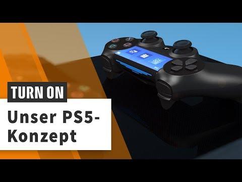PS5-Konzept: So wünschen wir uns die neue Konsole