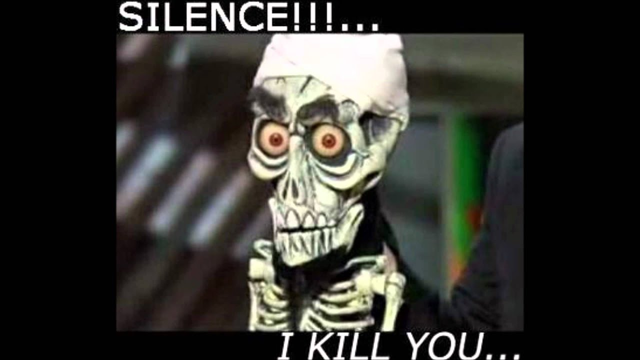 achmed silence sms tone youtube