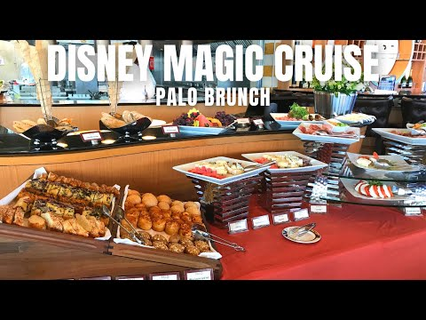 DINING REVIEW: Palo Brunch on the Disney Magic Cruise Ship | April 2018
