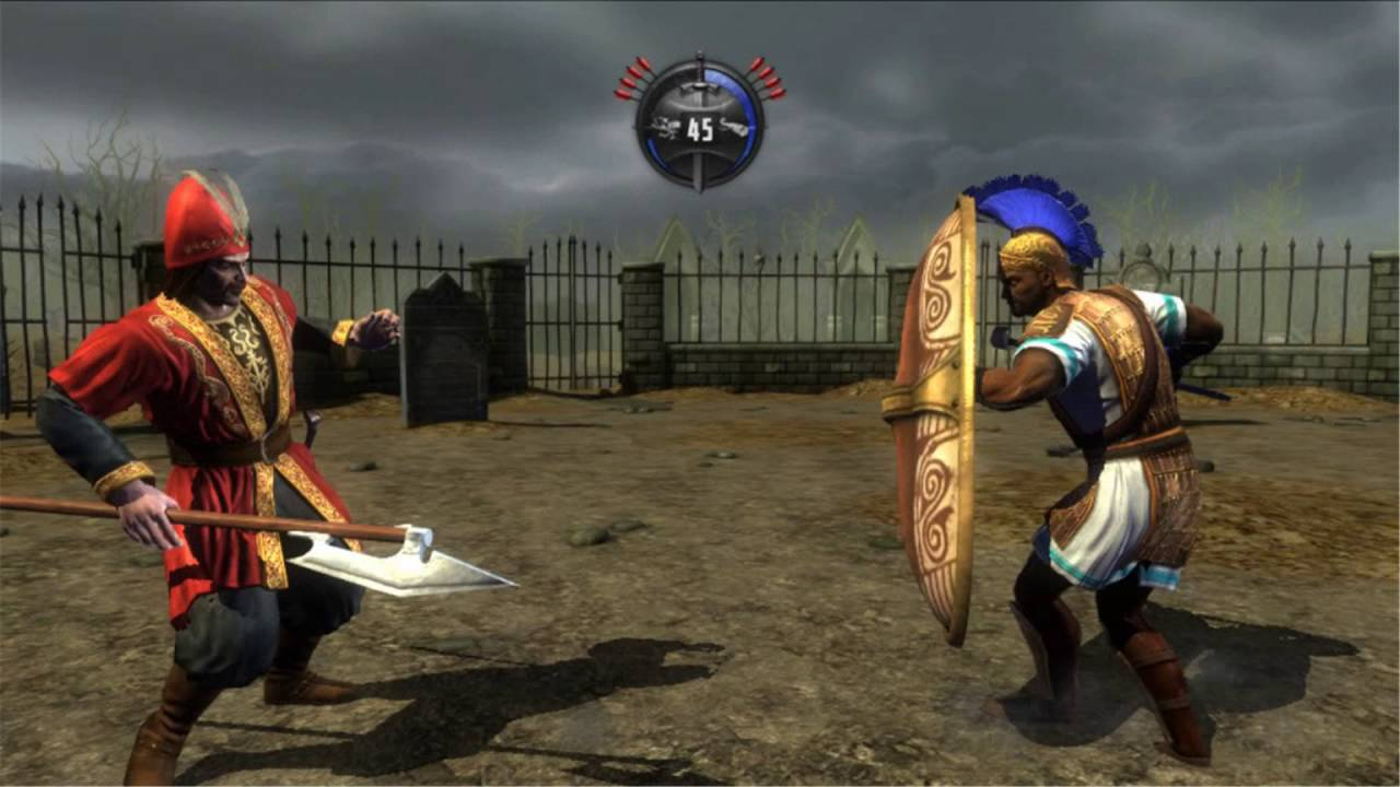deadliest warrior ancient combat ps3 youtube