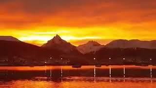 Video: La belleza de Ushuaia: El cielo capitalino nos regaló este hermoso paisaje
