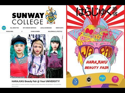 HARAJUKU Japanese Beauty Fair @ Sunway University!