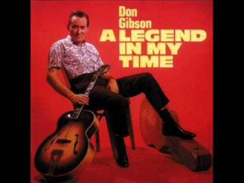 Don Gibson ~ I Sat Back And Let It Happen