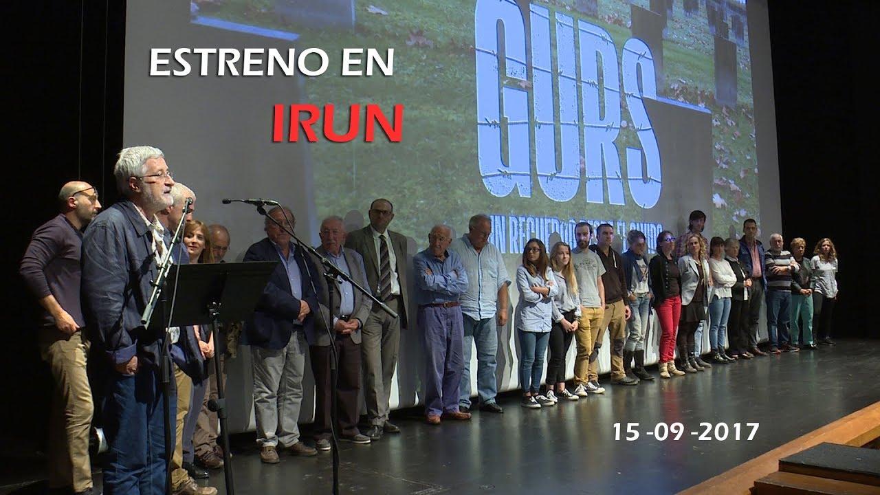 Estreno en Irun - Gurs, un recuerdo desde el olvido | Askatasunarte