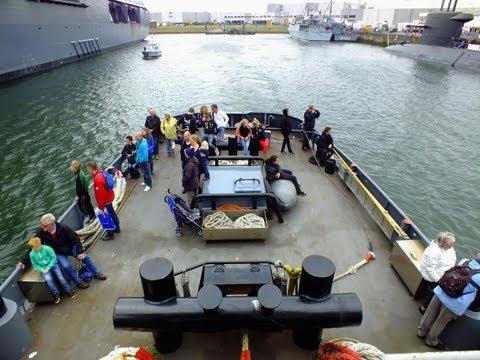 Marinedagen en Sail2013 vanaf sleepboot Gouwe.