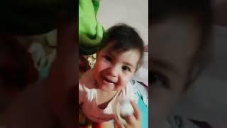 abigail Henao hablando a sus 9 meses