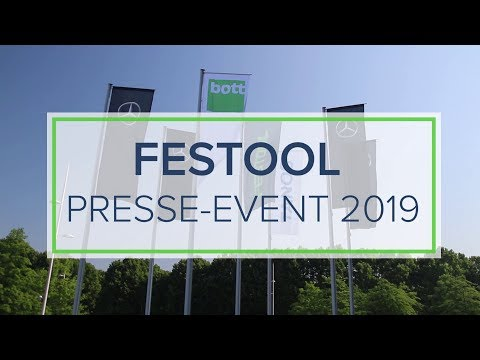 Festool Presse-Event 2019 - #SYSTAINIA