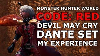 Monster Hunter World - Code Red - Devil May Cry Event - My Experience