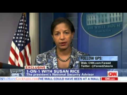 Fareed Zakaria does 13 minute interview with Susan Rice & not one question about Benghazi