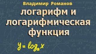 ЛОГАРИФМЫ И ЛОГАРИФМИЧЕСКАЯ ФУНКЦИЯ алгебра 11 класс