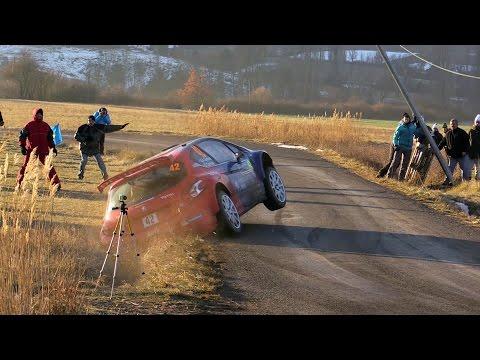 WRC Rallye Monte Carlo 2016 Crash and Show