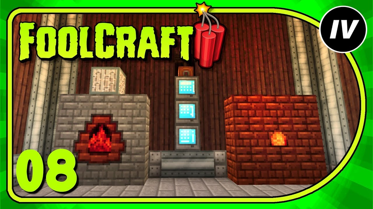 Repeat FoolCraft 3 - Ep 8 - Reborn Storage & Immersive by