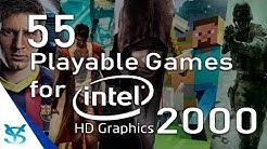 55 Juegos Jugables para Intel HD Graphics 2000