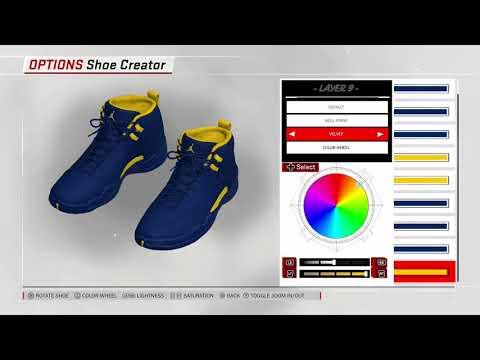 4edb61f2da55 NBA 2K18 Shoe Creator - Air Jordan 12 PE