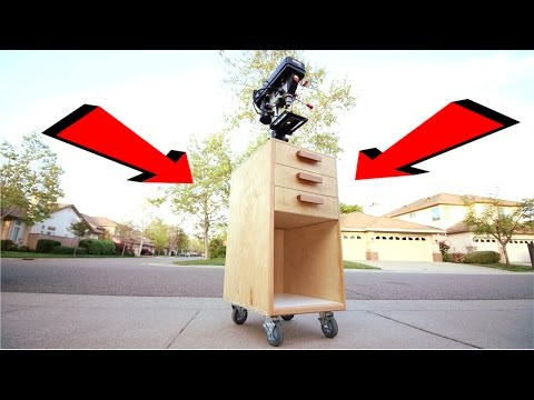 Making The Ultimate DIY Drill Press Cart!