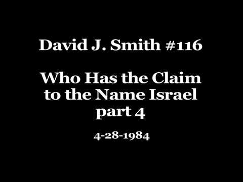David J. Smith #116 Who Has the Claim to the Name