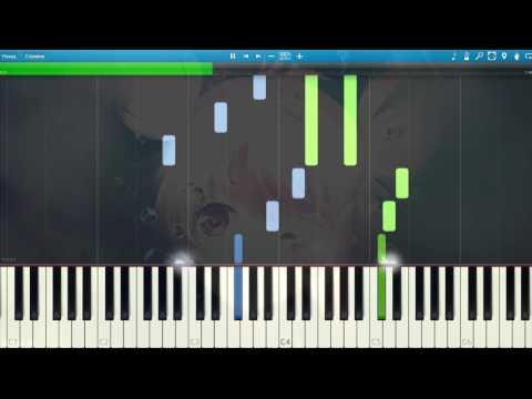 [Hatsune Miku] 深海少女 Deep Sea Girl easy version Piano Synthesia Tutorial