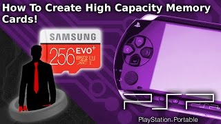 Create High Capacity PSP Memory Sticks! (Mod The PSP)