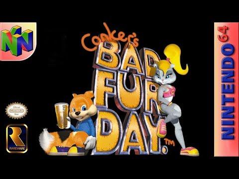 Longplay of Conker's Bad Fur Day