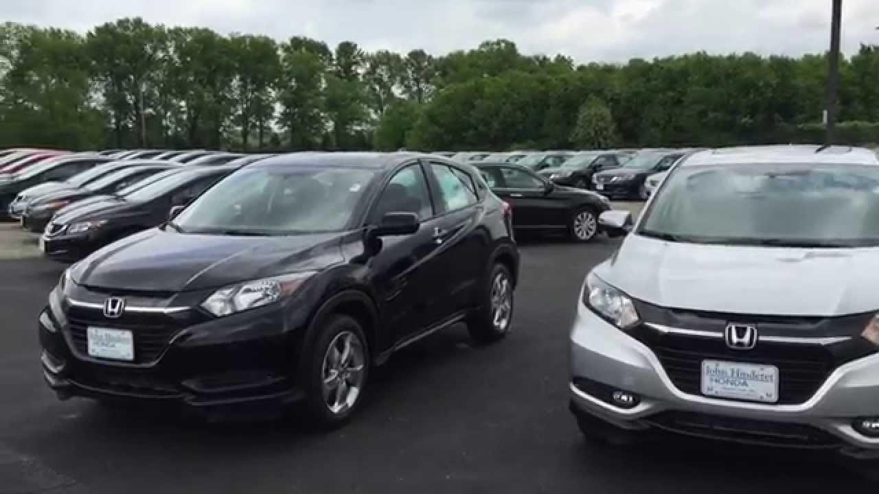 Honda Accord Lx >> 2016 Honda HR-V Comparison - YouTube