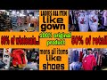 Factory Outlet Supplier Branded garments, Shoes and accessories for men's and women's