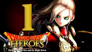 Dragon Quest Heroes Gameplay Walkthrough Part 1 No Commentary (PS4  PC English Dub)