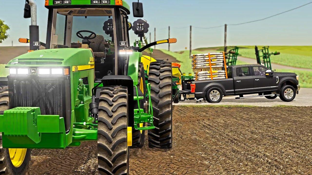 Download FIRST DAY OF PLANTING! (REAL-LIFE FARM SETUP) | FARMING SIMULATOR 2019