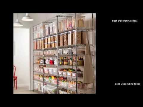 Pantry Shelving Easy Pantry Shelving Ideas Modern Wooden Metal
