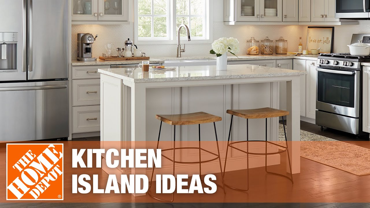 Inspiring Kitchen Island Ideas The Home Depot