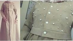 0724617c21928 طريقة تفصيل وخياطة فستان👗معطف بعقيق اللؤلؤrobe mantant خياطة بشرى للملابس  العصرية fashion modelisme - Duration  11 39.