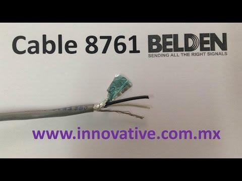 Cable 8761 Belden